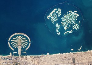 world and palm islands