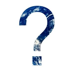 Earth Question Mark