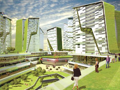 planted city