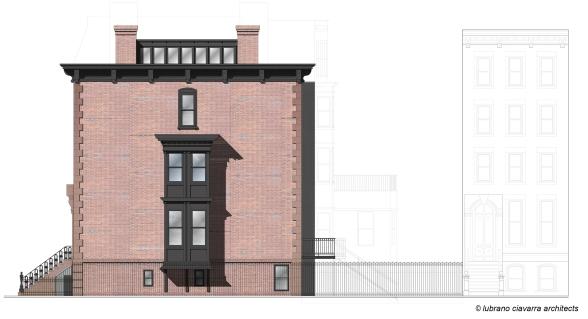 Row house Renovation Elevation