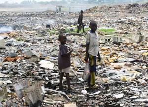 african ewaste dumping