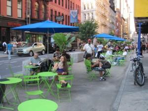 nyc broadway plazas