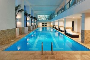indoor pool amenity