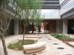 mini masdar courtyard